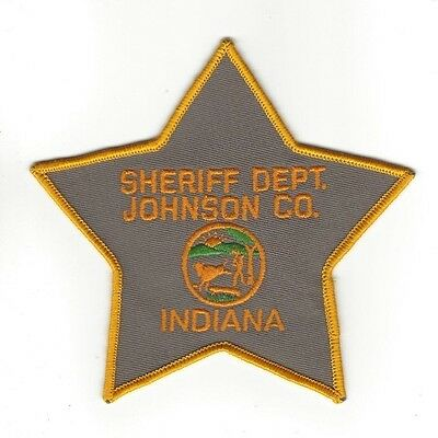 Johnson County IN Indiana SHERIFF Dept. LEO patch - NEW