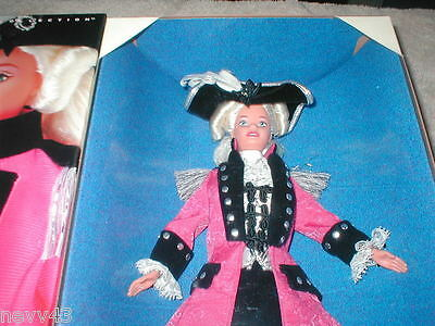 George Washington 1997 Barbie Doll FAO Exclusive NRFB