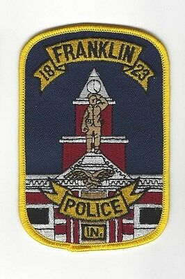 Franklin IN Indiana Police Dept. LEO patch - NEW!