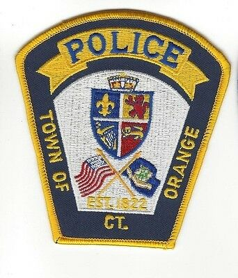Town of Orange CT Connecticut Police Dept. LEO patch - NEW!