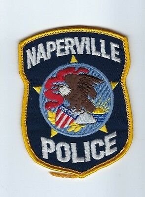 Naperville (DuPage and Will County) IL Illinois Police Dept. patch - NEW!