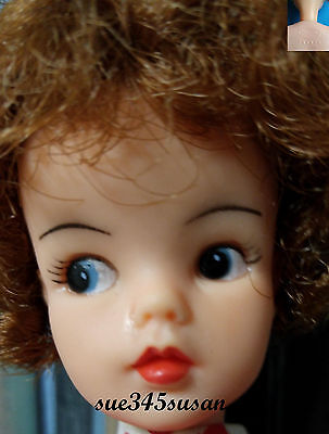 Vintage Tammy Doll Canadian Version Reliable 1964 -Auburn Hair + Clothes
