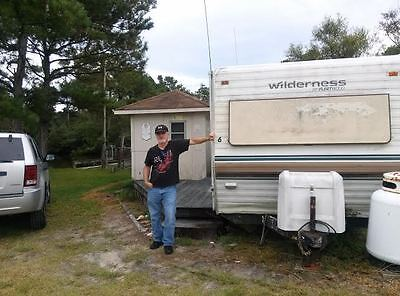 'wilderness Fleetwood' Mobile Home On Lot In Buxton - Outer Banks
