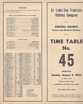 SLSF - Eastern & Northern Divisions - No 45 - August 1964
