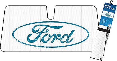 Genuine Ford Vintage Style Front Car Sunshade Sun Visor Windscreen Shade New