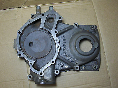 Buick 1953 1954 1955 264 322 Nailhead Timing Chain Cover