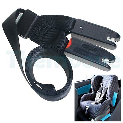 Car Baby Safe Seat Strap Soft Link Belt Adjustable Anchor Holder