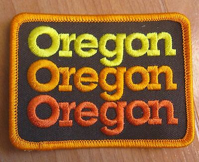 State of Oregon Patch Vintage