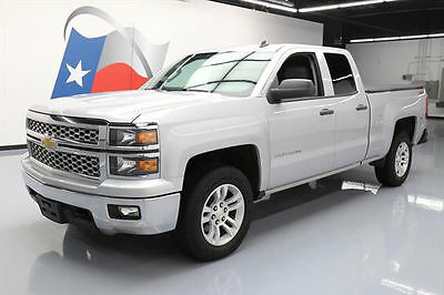 2014 Chevrolet Silverado 1500  2014 CHEVY SILVERADO LT DBL CAB 4X4 6-PASS REAR CAM 59K #170524 Texas Direct