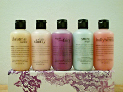 Set of 5 Philosophy Shampoo & Shower Gel (6 oz) Brand New & Sealed (Your Choice)