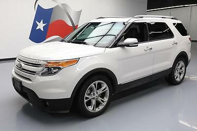 2014 Ford Explorer  2014 FORD EXPLORER LIMITED DUAL SUNROOF LEATHER NAV 50K #A79617 Texas Direct