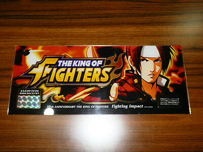 King of Fighters 10th Anniversary Store Promo Kusanagi Kyo Sign XIV Promo Poster