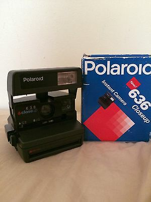 Polaroid 636 Close Up Instant In A Box Whit Manual