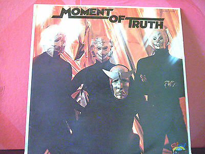 MOMENT OF TRUTH LP same PROMO ITALY NM/NM (VINYL)