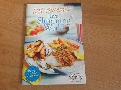 Slimming World book full of recipes & helpful tips