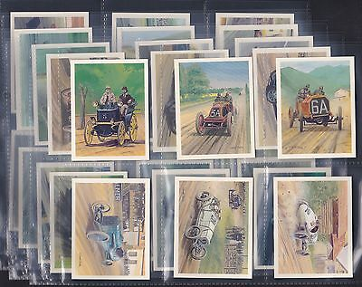 Tom Thumb, History Of Motor Racing, Complete Set Of 30 Issued In 1986.