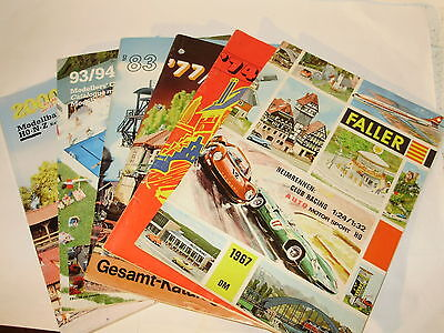 Faller magazines x 6. Various years. German Text. Excellent Condition