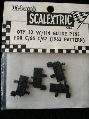 Scalextric W/114 Guide Pins For C66 &c67