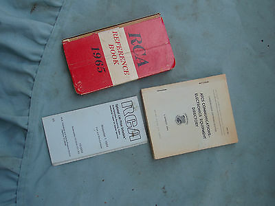Three Older Publications,,,rca/rca List Price,,afcs Comm. Us Airforce-1965/66/84