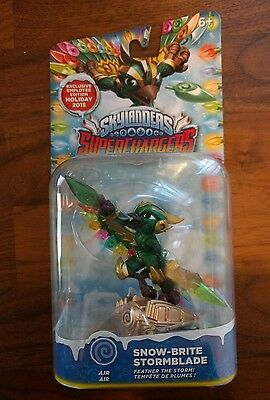 Skylanders Superchargers Snow-Brite Stormblade, Limited Edition, RARE/NEW/SEALED
