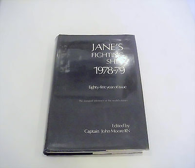 Jane's Fighting Ships 1978-79 81st Edition Dust Jacket + Plastic Cover