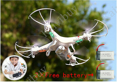 X5C-1 Aircraft RTF Drone 2.4GHz 6-Axis Gyro Quadcopter with HD Camera +2 Battery