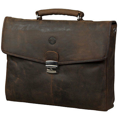 dbramante1928 Leather Briefcase Shoulder Strap for Apple Macbook 13inch Hunter