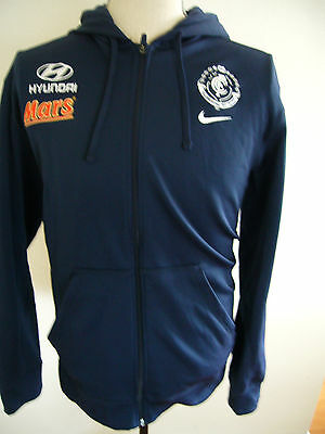 Nike Carlton BLUES AFL Home Zip-up Hoodie Size Mens XL Mars - Perfect Condition
