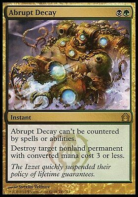 MTG 1x Abrupt Decay (Return to Ravnica) FOIL