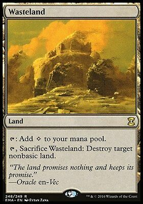 MTG 1x Wasteland (Eternal Masters)