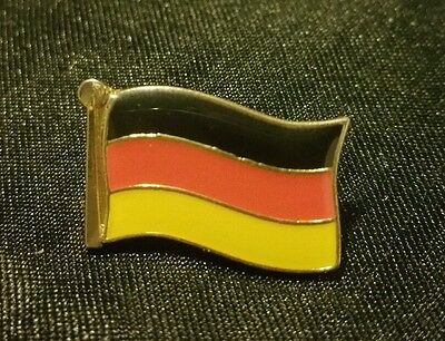 Vintage Flag of Germany Lapel Pin Tie Tack Collectible Badge
