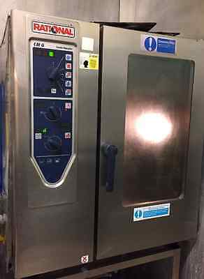 Rational 10 Grid Gas Combi Oven