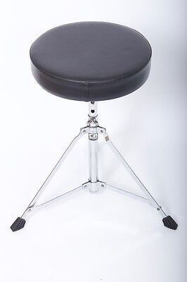 CB Drums Drum Throne / Seat / Stool Round Top For Drum Kit Adjustable Height