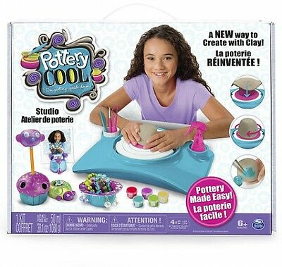 Pottery Cool Studio Toy Gift Play Fun Kid Children Activity Pretend Interactive