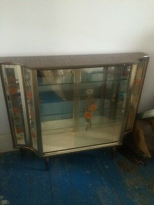 1950s/60s Glass Cabinet