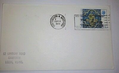 First Day Cover  1976 ( Portsmouth & Southsea ) Nice  Gb Stamp.