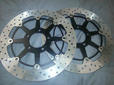 Suzuki Gsxr 1300 hayabusa Gsxr600 srad Tl1000 front brake discs. Made in Uk