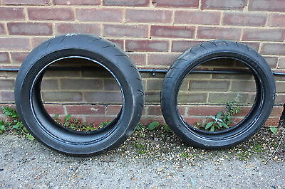 Pirelli Dragon Supercorsa Pro Front And Rear Tyres 120 180 Track Road.