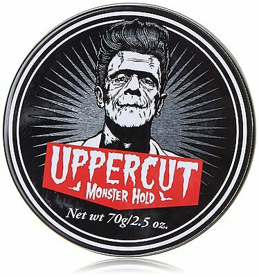 Mens Uppercut Deluxe Monster Hold Hair Styling Wax Rockabilly 70G