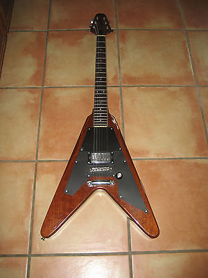 Rare Vintage 70,s Harmony Marquis Guitar, Flying V  !!! Needs Repaired
