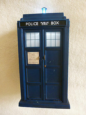 Dr Who Police Box Tardis lights and sounds fully working VGC Free P&P