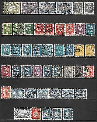 ESTONIA 1922-1933 Mint and Used Issues Selection (Nov 0220)