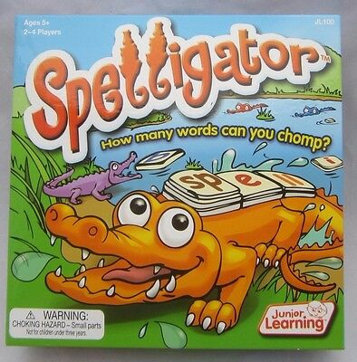 Junior Learning Spelligator Word Building Game - Complete - GUC