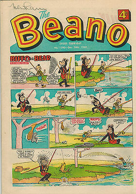 BEANO COMIC No. 1330-1380 - 51 issues for 1968