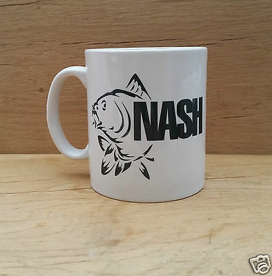"""NASH"" FISHING MUG Slogan/Present idea/Carp Fishing"