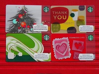 4 mexico starbucks mint gift cards .