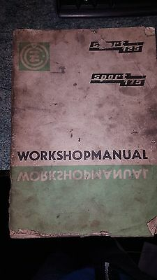 mz125 and 175 1971workshop manual - factory issued