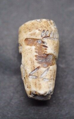Nice Hardstone Seal With Lovely Zoomorphic Impression