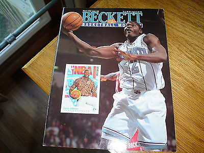 #20 Beckett Basketball Monthly Pricing Guide March 1992 Larry Jackson