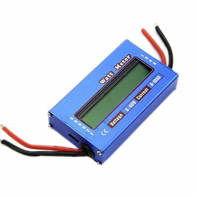 Digital DC combo Meter LCD Watt Power Volt Amp RC Battery charging Analyzer K